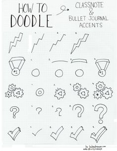 In Part 1 of Doodling Journal Accents I demonstrated how I add lightbulbs, blue ribbons, thumbtacks, and spiral bound calendar pages to my notes and journals. In part two, I show my process for doodling lightning bolts, award medals, gears, question marks, and check marks. All helpful accents for bullet journals, visual notes, or doodles.…