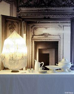 Carte blanche à la Maison Martin Margiela Menu blanc pour la desserte