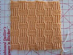 Anonyknits: Squares Seven