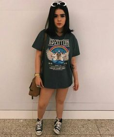 Pin by Silvana Zurita on Style in 2019 Tumblr Outfits, New Outfits, Trendy Outfits, Girl Outfits, Cute Outfits, Fashion Outfits, Tumblr Fashion, Indie Fashion, Grunge Fashion