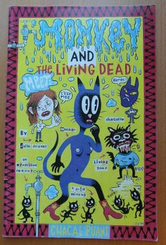 """""""Monkey and The Living Dead"""" Julie Doucet"""