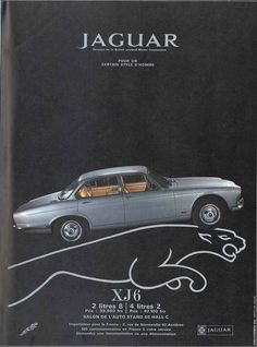Jaguar XJ6 - Réalités, octobre 1970