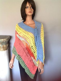 75a14eb920546 Shawl Cotton Wrap Stole Multicolor Summer Lace Boho Chic Hip Designer  Fashion Gift Prayer Birthday Mother Friend Sister Soft by on Etsy