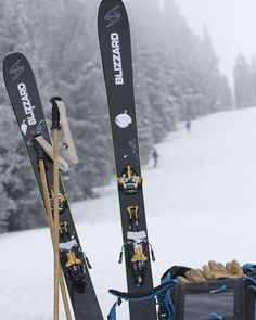 Testing skis is the best kind of
