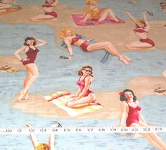 Bathing Beauties by Marcus Brothers  RARE OOP   Large by maisiev, £10.00