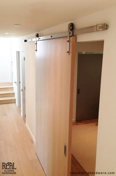 Sliding door interiors pinterest best sliding door for Narrow barn door