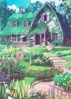Hayao Miyazaki ■Spirited Away● Howl's moving castle●Kiki's Deliver Service●Studio Ghibli, Japan● (スタジオジブリ)