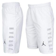 Jordan AJ Shorts - Men's at Eastbay Shorts Nike, Jordan Shorts, Gym Shorts Womens, Men Shorts, Jordan Outfits, Nike Outfits, Sport Outfits, Jordans Outfit For Men, Gym Outfit Men
