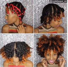 Achieve Fierce & Fabulous Flat Twists Out Curls with a few simple steps in this tutorial