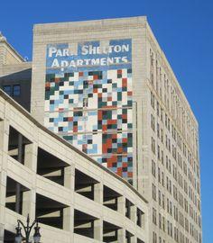 Detroit: geometric murals of the 70s