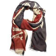 Alexander the Great scarf by Alexander McQueen. ahh yessss please.