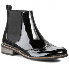 Kotníková obuv s elastickým prvkem LORETTA VITALE - 2601 Black