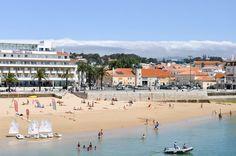 Praia da Ribeira Beach in Cascais, Portugal | The perfect day trip from Lisbon