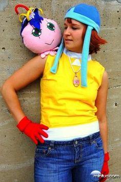Sora digimon adventure cosplay