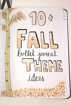 Looking for some super cute fall bullet journal theme ideas? Check out over 10 Fall bullet journal theme ideas here! | fall bullet journal theme ideas | fall bullet journal cover page ideas | fall bullet journal ideas | september bullet journal ideas | october bullet journal ideas | novemeber bullet journal ideas | hot chocolate bullet journal | leaves bullet journal | fall bujo | fall bullet journal | #fallbujo #fallbulletjournal #bulletjournalthemeideas #fall