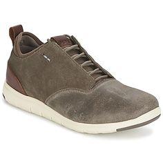 Geox xunday 2fit heren sneakers (Bruin)
