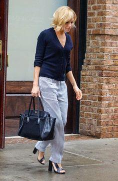 Celebrities&Fashion&Style: Bye-Bye Boho: Sienna Miller's New Look is Streamli...
