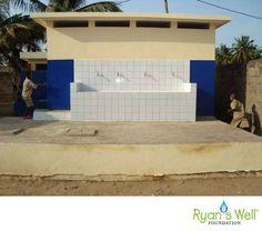 TOGO - Adakpame Primary School's latrine and handwashing station
