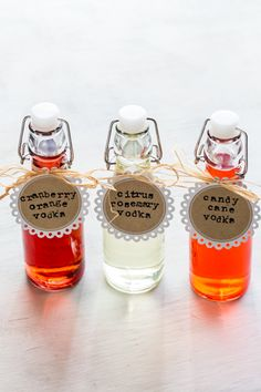 Homemade Holiday Gift: Infused Vodka Recipes | My Baking Addiction