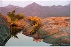 Mountain Pool, Namaqualand ~ Freeman Patterson _/\/\/\/\/\_ Photographs, Photos, South Africa, Giclee Print, Mountain, Journey, Water, Prints, Travel