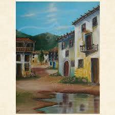 Resultado de imagem para telas pintadas a oleo