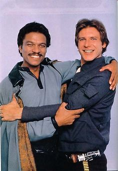 Lando & Han - original bromance