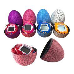 Kids-Crack-Dinosaur-Egg-Toys-Virtual-Digital-Pet-Electronic-Game-Gift-Keychain