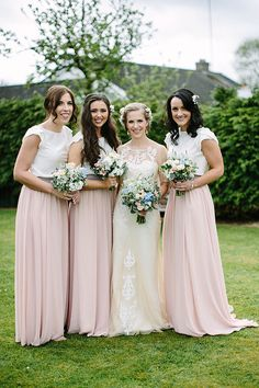 Gorgeous outdoor Boyne Hill House wedding by Therese Aherne | www.onefabday.com