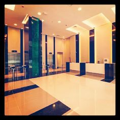 Lobby do Platinum Tower Ibirapuera