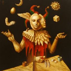 Surrealism and Visionary art: Jake Baddeley Surrealismo e arte visionaria: Jake Baddeley Psychedelic Art, Le Bateleur, Eugenia Loli, Psy Art, Magic Realism, Fantasy Kunst, Visionary Art, Clowns, Fantastic Art