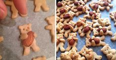 Ak máte radi sušienky a medvedíkov, určite si zamilujete aj tieto rozkošné kúsky! Autorkou týchto chutne vyzerajúcich objatí medvedíkov s orieškom, ktorých