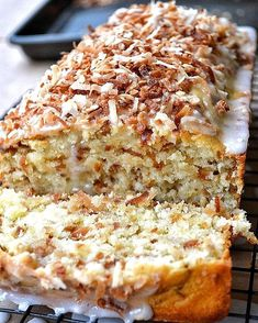 Try Toasted Coconut Pound Cake! You'll just need cup unsalted butter, room temperature, plus more for pan, 2 cups all-purpose flour (spooned and. Coconut Pound Cakes, Coconut Desserts, Pound Cake Recipes, Cupcake Recipes, Cupcake Cakes, Dessert Recipes, Cupcakes, Food Cakes, Cookie Recipes