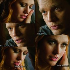 Clary and Jace Jace And Clary Kiss, Clary Und Jace, Cassandra Jean, Cassandra Clare Books, The Mortal Instruments, Shadowhunters Tv Series, Dominic Sherwood, Clace, Shadow Hunters