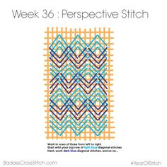 Year of Stitch Perspective Stitch