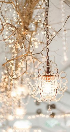 Image via We Heart It https://weheartit.com/entry/150132505 #beautiful #chandeliers #Illuminating #light #wallpaper #wedding #white #winter