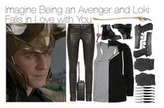 """Imagine Being an Avenger and Loki Falls in Love with You"" by fandomimagineshere ❤ liked on Polyvore featuring mode, Gucci, Scotch & Soda, NIKE, Dr. Martens, Forge de Laguiole et Motorola"