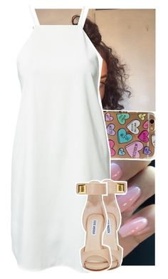 """"""""""" by theyknowtyy ❤ liked on Polyvore featuring Dark Pink and Steve Madden"""