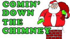Image result for images of santa going down the chimney