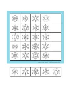 Board and tiles for the sudoku. Laminate and cut out the board and tiles. add hook and loop tape and the sudoku is ready. By Autismespektrum Winter Activities For Kids, Hook And Loop Tape, Snowy Day, Hobbies And Crafts, Preschool, Therapy, Education, Board, Activities