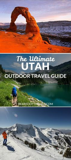 Plan an adventurous trip to Utah with our outdoor travel guide featuring the best outdoor activities, national parks & most popular Utah blog posts.