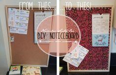 DIY Noticeboard - Number Sixty One blog