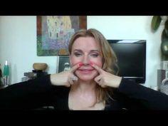 Tvárova gymnastika,cvik na nasolabiálnu ryhu - YouTube