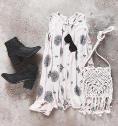 #freepeople slip dress + #matisse booties