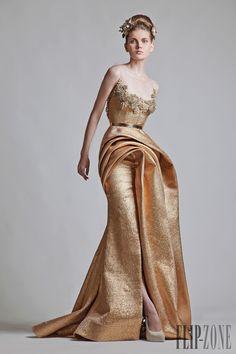 Krikor Jabotian Printemps-Ete 2013 - Haute couture - http://fr.flip-zone.com/fashion/couture-1/independant-designers/krikor-jabotian-3388