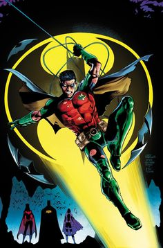 In Detective Comics, James Tynion IV has established that this is the perfect time for Tim drake to helm a new Red Robin ongoing series. Dc Comics Superheroes, Dc Comics Art, Marvel Dc Comics, Tim Drake Red Robin, Robin Dc, Batman Robin, Comic Book Heroes, Comic Books Art, Book Art