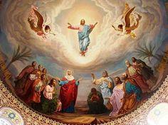 Fiul a luat trup, ca omul să se întoarca la Dumnezeu Receiving The Holy Spirit, Christ Is Risen, Jesus Christus, Russian Orthodox, Pentecost, Jesus Pictures, Catholic Pictures, Christen, Religious Art