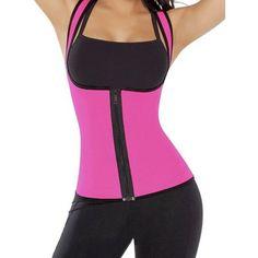 da82bee5548 SAYFUT Women s Slimming Vest Hot Sweat Neoprene Shirt Body Shaper Tank Top  Tummy Control Waist Trainer
