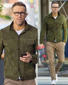 Old Man Fashion, Church Fashion, Mens Fashion, Ryan Reynolds, Mens Fall, Older Men, Mens Clothing Styles, New York City, Sexy Men