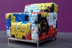 soccer ball chair.  ingenius.