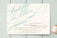 Winter Flourish Wedding Invitations - I think these are the ones except in Blush and Gold